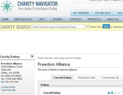 charitynavigatorfreedomalli