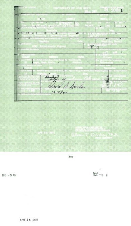 Is Todays Obama Birth Certificate Real Or Clumsy Adobe Photoshop