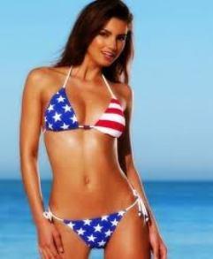 americanflagbikini