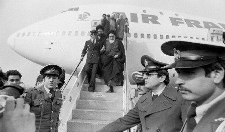 khomeiniplane