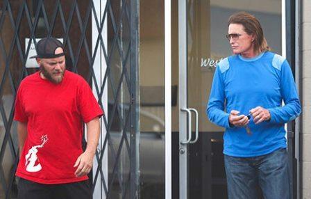 Bruce and Burt Jenner