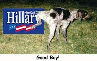 dogpeeingonhillary